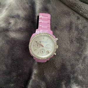 Michael kors light purple watch